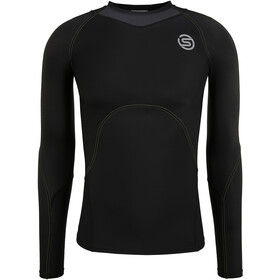 Skins Series-3 Compression LS Top Men, black